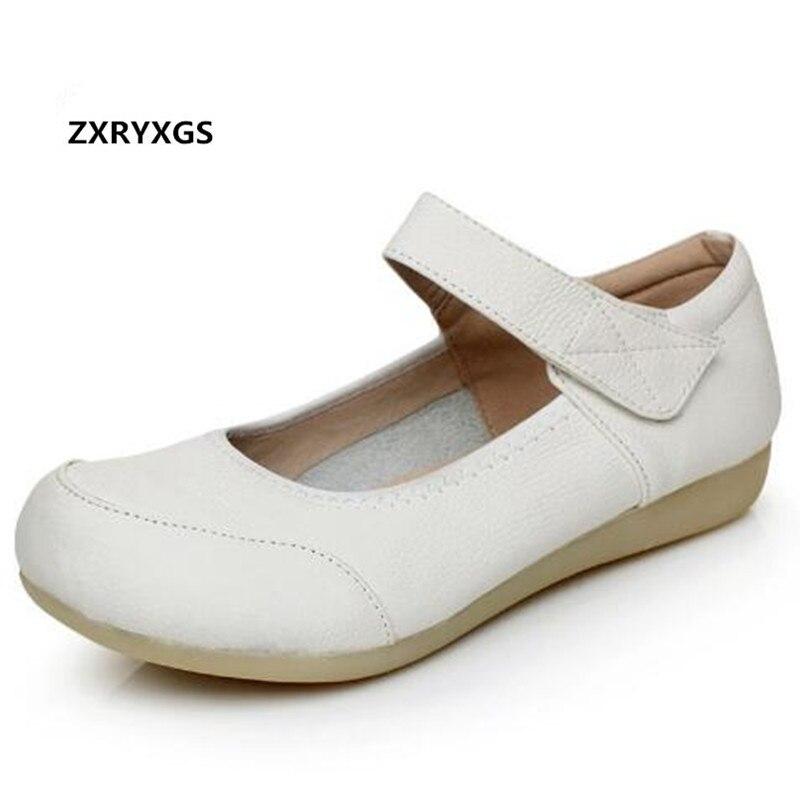 economico per lo sconto 69ebb 7edce Casual Bianco Primavera Cuoio Da Shoes Hollow Donne White ...