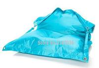 Fatball originele Groothandel Blauw Outdoor Volwassen Zitzak Stoel  Tuin Camping Zitzakken  Luie Sofa Overal Draagbare Zitten kussen