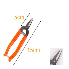 high quality stainless steel orange scissors small fruit tree pruning shear fruit scissors for gardening fruit experts