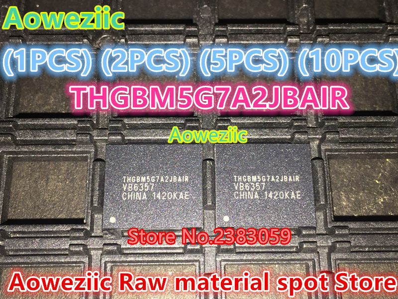 Aoweziic (1PCS) (2PCS) (5PCS) (10PCS) 100% new original   THGBM5G7A2JBAIR  BGA   16G Memory chip сигнализатор поклевки hoxwell new direction k9 r9 5 1