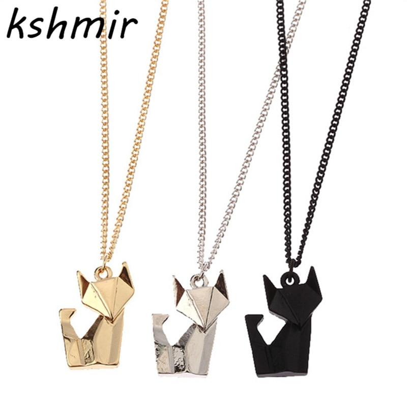 Fashion accessories. Delicate. Joker stereo origami animal ...