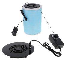 1pc controle de velocidade do agregado familiar fonte de alimentação controlador velocidade ventilador purificador de ar diy para xiaomi purificador de ar mais limpo