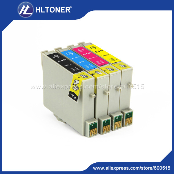 4 teile/satz kompatibel tintenpatrone epson t0441 t0442 t0443 t0444 für epson stylus...