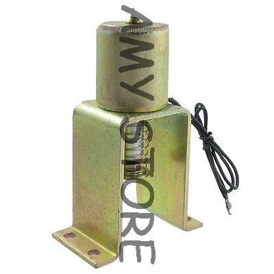 Solénoïde d'électro-aimant d'opération de fermeture de cc 220 V 2.8A de Force de 5Kg