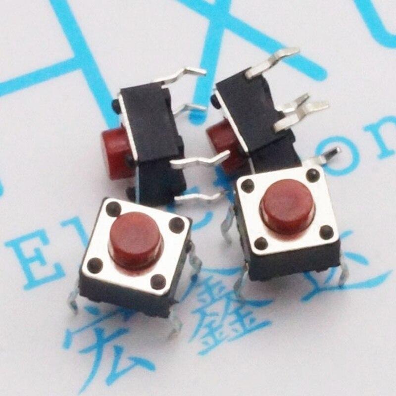 6x6x5 rouge induction cuisinière interrupteur rouge clé induction cuisinière tactile interrupteur