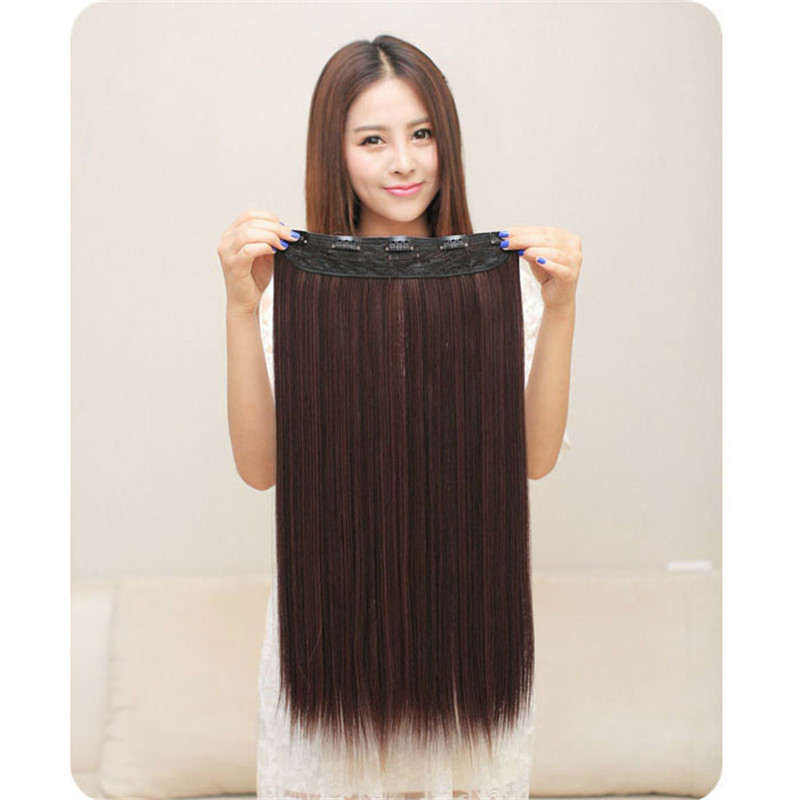 Long Straight wigs front lace wigs synthetic hair Similar to full lace wigs human hair with baby hair 6123A