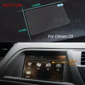 7 Inch GPS Navigation Screen Steel Protective Film For Citroen C5 Control of LCD Screen Car Styling Sticker