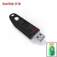 100 Original SanDisk USB Flash Drive 32gb 64gb 16gb 256GB 128gb CZ48 USB 3 0 100MB
