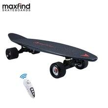 Maxfind 3.7 kg nhất di động trung tâm động cơ từ xa điện ván trượt với Samsung pin bên trong Mini ván trượt
