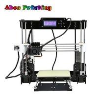 Cheap 3D Printer 2018 A8 Upgradest New Mainboard Reprap Prusa I3 DIY Kit Impressora 3d