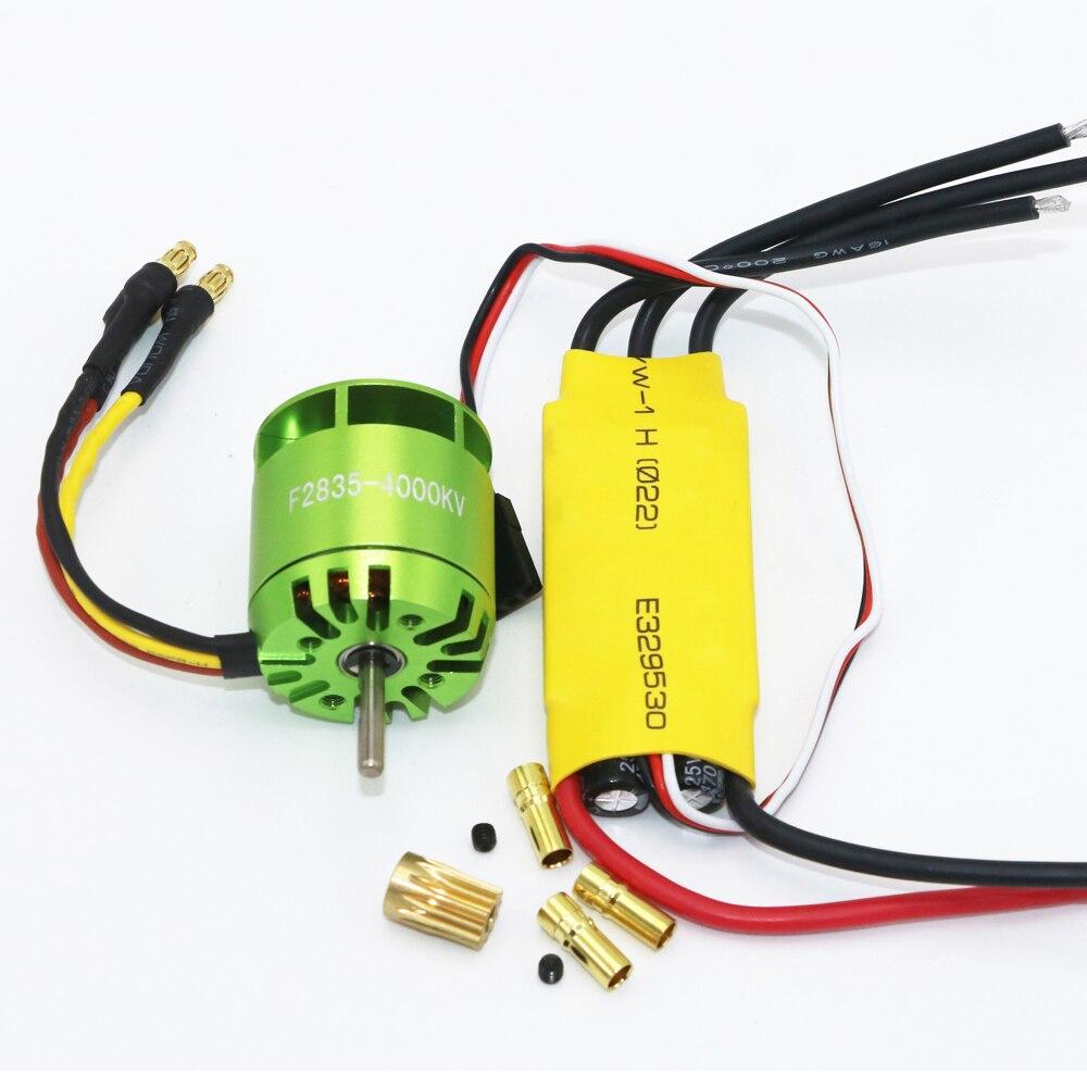 1set 4000KV Brushless Motor XXD 30A ESC For Rc font b Quadcopter b font Multicopter TREX