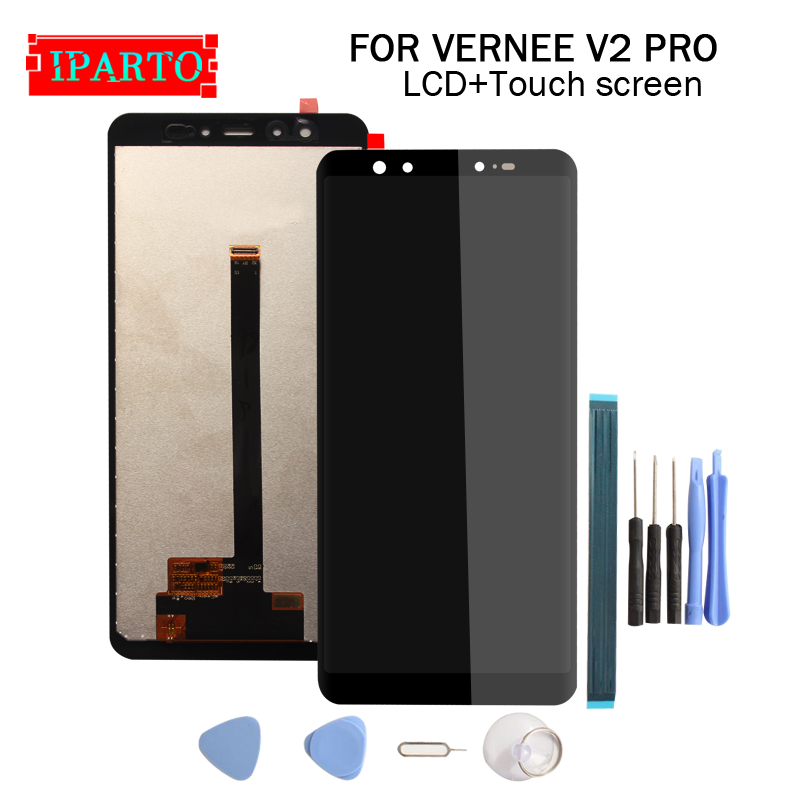 5 99 inch VERNEE V2 PRO LCD Display Touch Screen Digitizer Assembly 100 Original New LCD