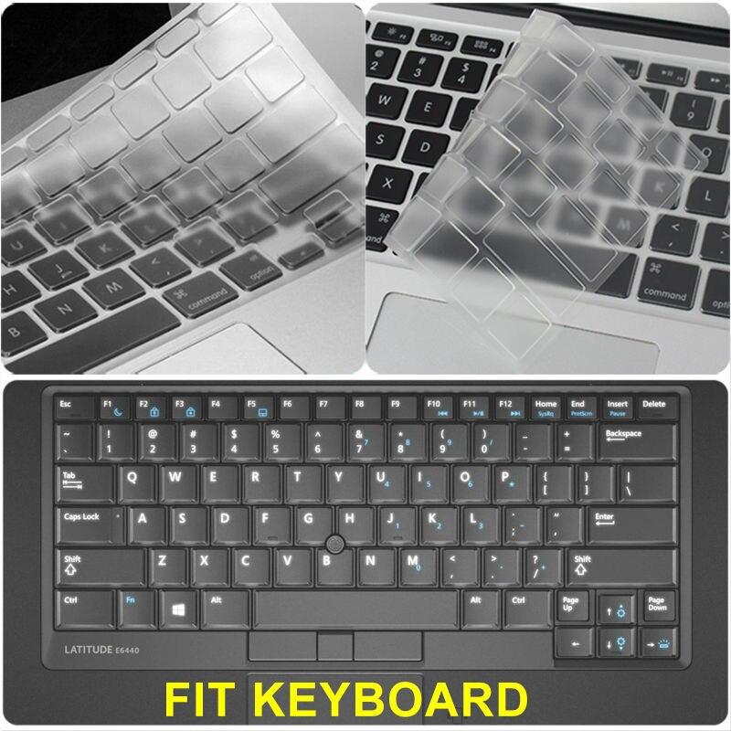 Ultra Thin Clear TPU Keyboard Cover Protector Skin for Dell Latitude E6420,E6320,E5430,E6330,E6440 US Keyboard Layout