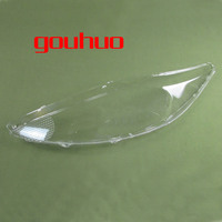 Front Headlamps Transparent Lampshades Lamp Shell Masks For Ford Fiesta 09 10 11 12