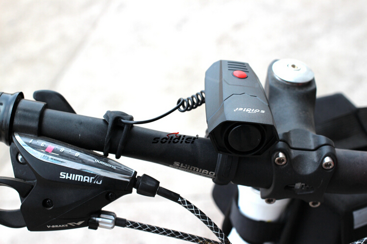Ultra Loud Cycling Horns MTB Cycle Bike Bicycle Handlebar Ring Bell Horn