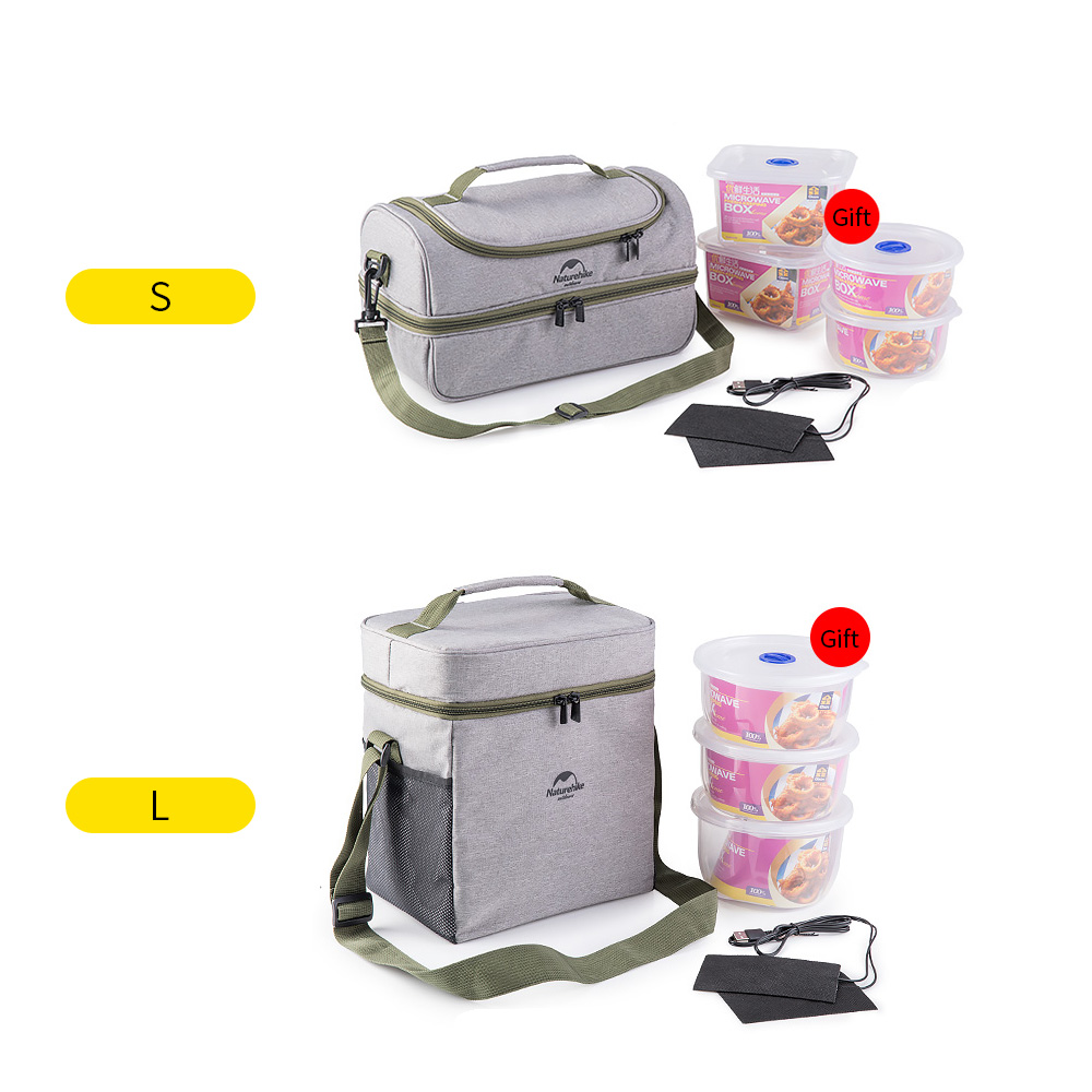 Outdoor Camping Tote BBQ Picnic Bag Insulated Lunch Bag Thermal Insulation Lunch Tote Thermal Bento Bag