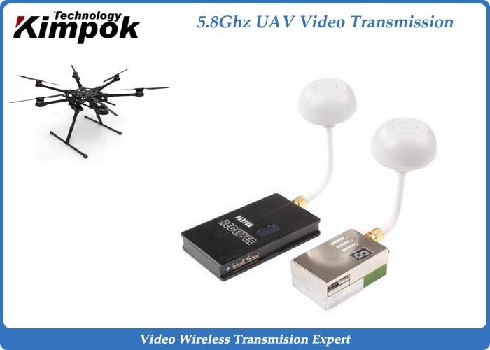 5,8 GHz FPV UAV bezdrátový video vysílač a přijímač 10 km LOS - Videokamery a fotoaparáty