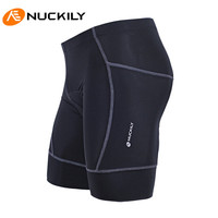 NUCKILY 2.5cm Thicken Silicon Gel Padded Ultra breathable Riding Pro MTB Bicycle Bike Team Sports Shorts Outdoor Sport Shorts
