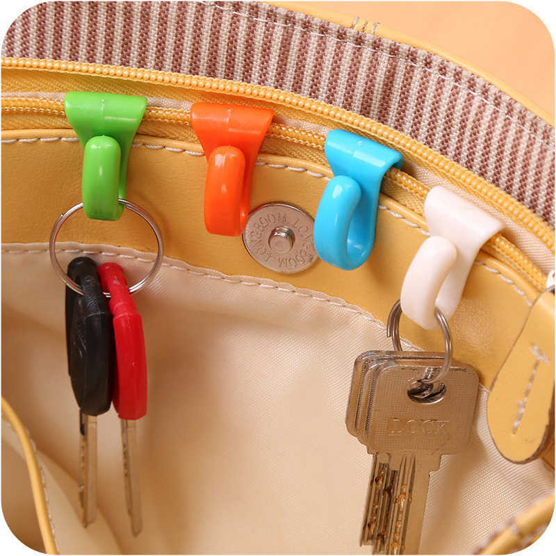 2 Pcs Fashion Travel Accessoires Draagbare Multifunctionele Unisex Key Security Security Onderdelen Koffer Hanger Decoratie Organizer