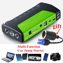 Mini Nood Uitgangspunt Apparaat Auto Jump Starter 12 V Draagbare Power Bank Autolader voor Auto Batterij Booster Auto Uitgangspunt apparaat(China)