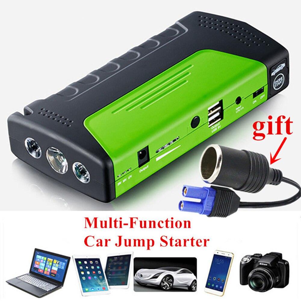 Mini Notfall Start Gerät Auto Starthilfe 12 v Tragbare Power Bank Auto Ladegerät für telefon batterie starter Start Gerät