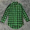 mens fashion hip hop shirts streetwear urban clothing hiphop men clothes plaid zipper shirt kanye justin bieber men's shirts