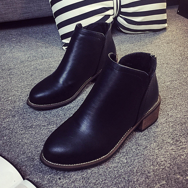 Woman Shoes Fashion Genuine Leather Ankle Boots Motorcycle Female Lace Up Low Heels Platform Comfortable Spring Autumn Shoes front lace up casual ankle boots autumn vintage brown new booties flat genuine leather suede shoes round toe fall female fashion
