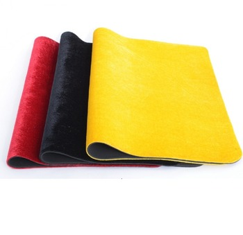 Free shipping 4 colors mat table pad fleece lined goods flannel magic tool poker coin playmat board game playmats magician tools dhl free shipping small blind poker coin poker cards guard protector metal token coin 40 3mm