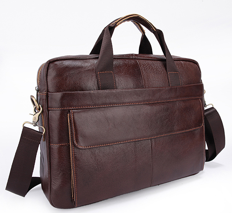 2017 Men Casual Briefcase Business Shoulder Genuine Leather Bag Men Messenger Bags Computer Laptop Handbag Bag Men's Travel Bags 2017 men casual briefcase business shoulder genuine leather bag men messenger bags computer laptop handbag bag men s travel bags