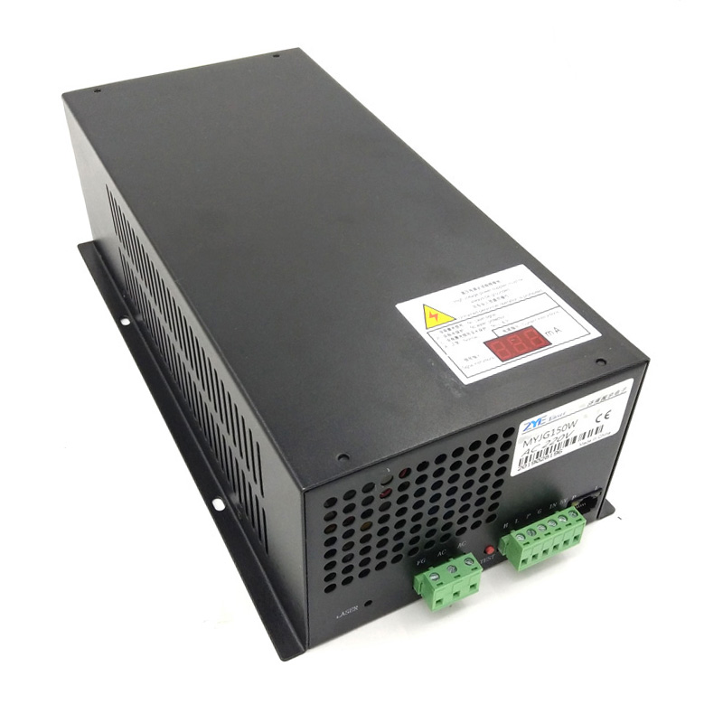 MYJG150W 150W CO2 laser power supply unit PSU with currency meter show the currency mA 110V