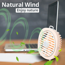 KBAYBO Natural Wind Fan USB Portable and Novelty Desk Mini F