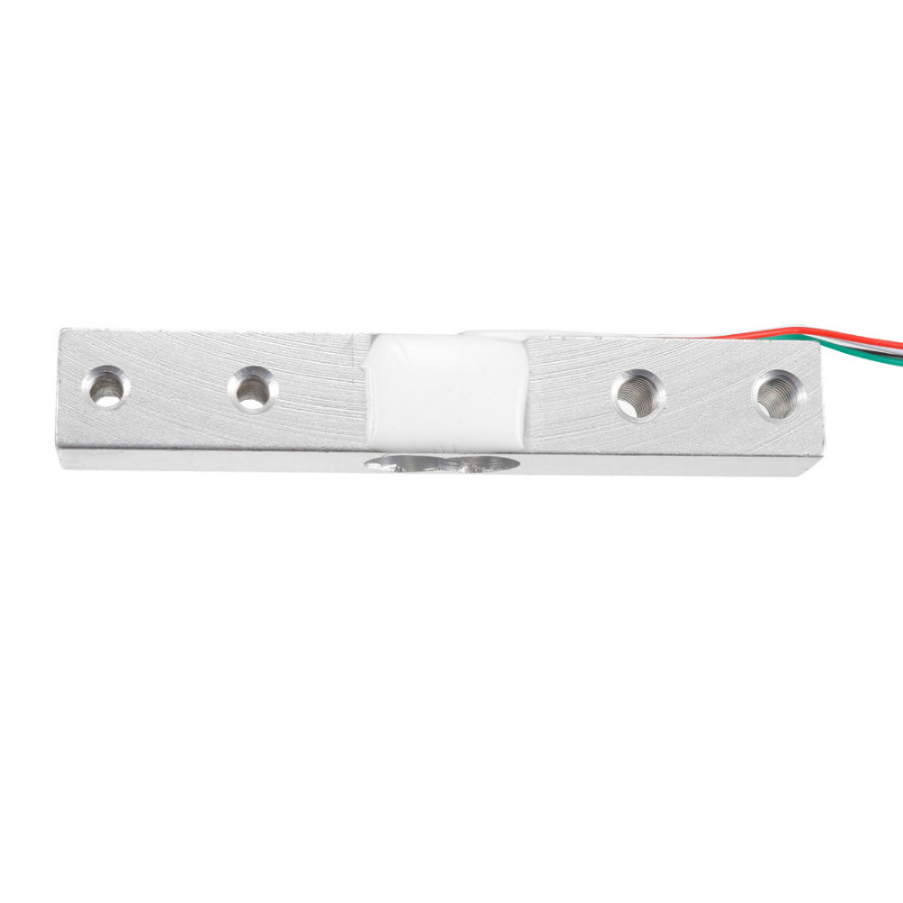 Uxcell 0.1/1/5/10/20kg Weighing Load Cell Electronic Balance Wired Load Cell Weighing Sensor Silver Tone Aluminum Alloy 1PCS Uxcell 0.1/1/5/10/20kg Weighing Load Cell Electronic Balance Wired Load Cell Weighing Sensor Silver Tone Aluminum Alloy 1PCS