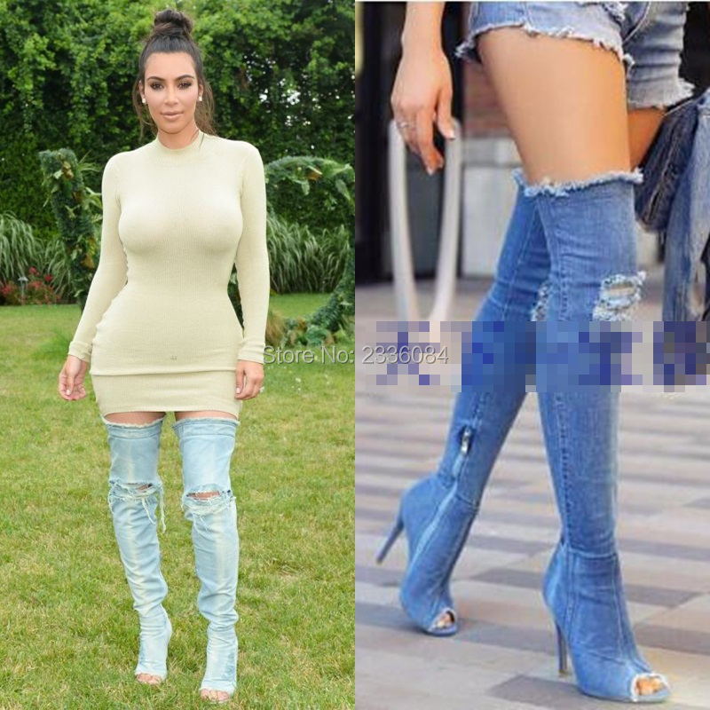 Popular Thigh High Jeans-Buy Cheap Thigh High Jeans lots from ...