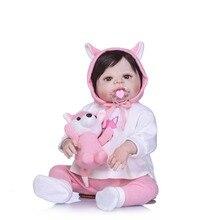 NPKCOLLECTION 55cm Silicone Reborn Dolls Lifestyle Soft Prin