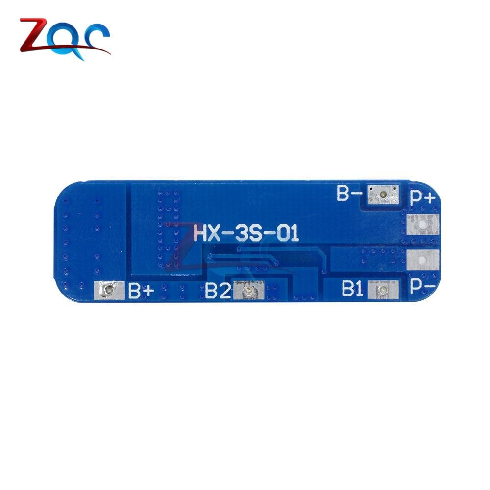 12V 3S 18650 10A BMS Charger Li-ion Lithium Battery Schutz HX-35-01 AIP