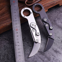 AZRAEL OD216 Outdoor Mechanical CS GO Claw knifes camping Combat Hunting Scorpion Tactical Knife Pocket Folding Knives Survival