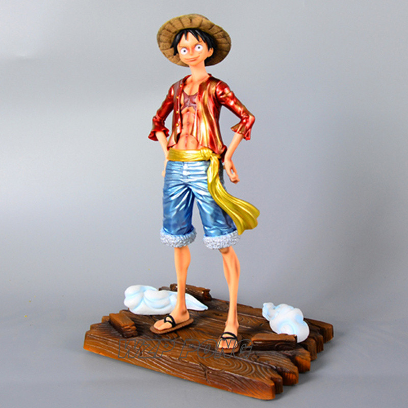 Action & Toy Figures Hkxzm Movie Anime 27cm One Piece Monkey Luffy Pvc Action Figure Toy Doll Brinquedos Figurals Collection Op Model Gifts Gift
