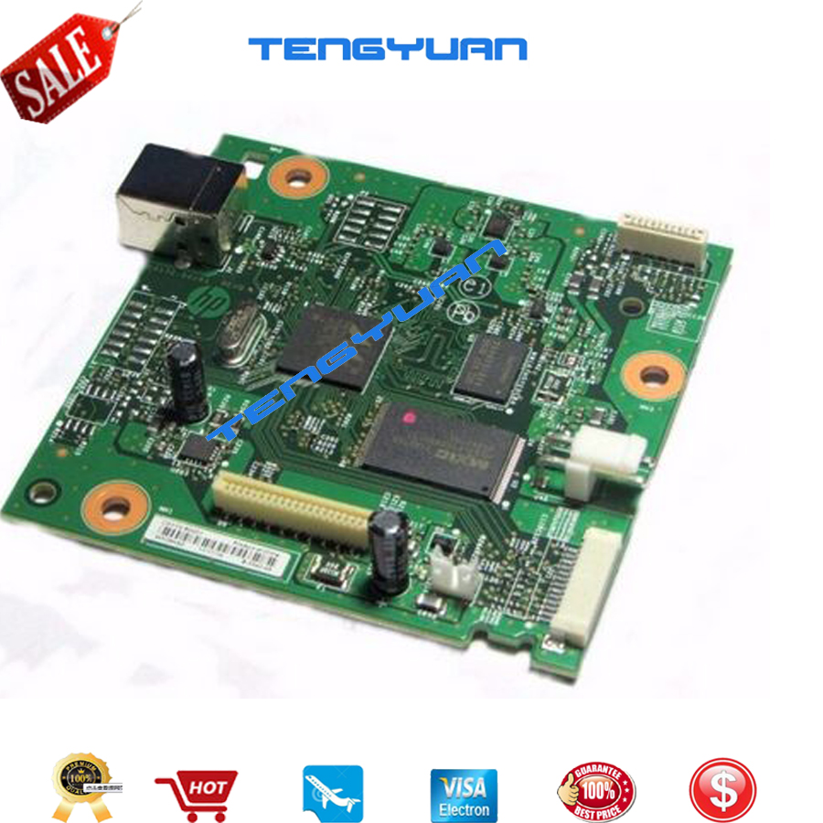 Image 2 - LaserJet CZ172 60001 NEW original Formatter Board Logic mainboard For HP LaserJet Pro M125a M126/126A M125A MFP in Printer parts-in Printer Parts from Computer & Office