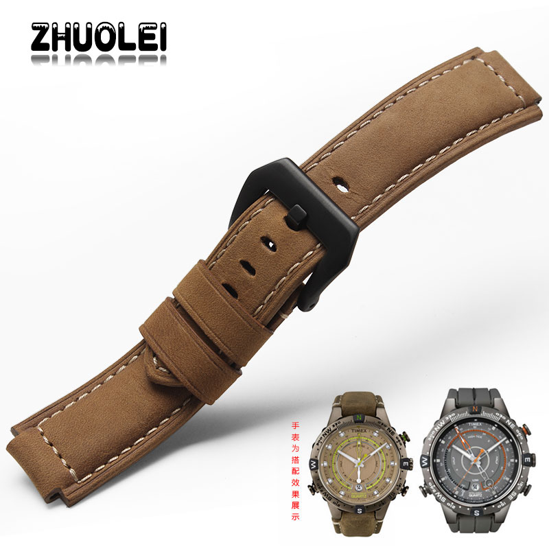 5931a3f97aa2 Zhuolei Watchband For Timex T49859