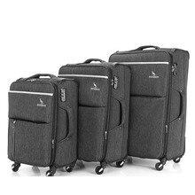 """Travel tale 2"""" 24"""" 2"""" дюйма spinner пластиковые контейнеры для тату набор чемоданов мягкой прокатки багажные наборы для туда и обратно"""