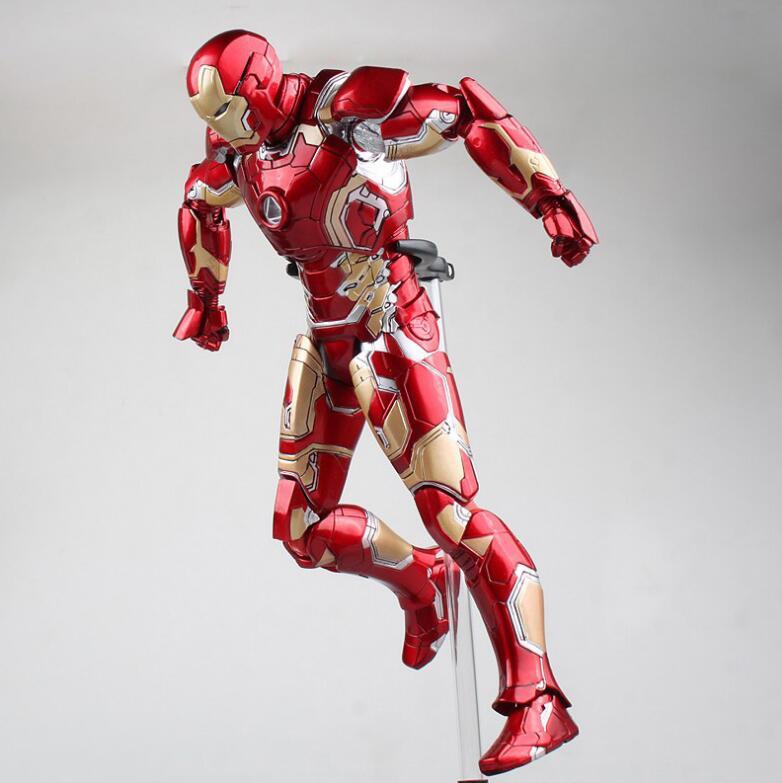 HC HotToys Avengers fer homme marque XLII Gloden PVC figurines jouets