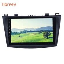 Harfey Android 6,0/7,1 9 «Car радио для 2009 2010 2011 2012 MAZDA 3 gps Navi Wi-Fi 3g мультимедийный плеер автомагнитолы авто стерео