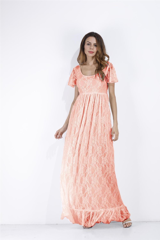 1e9c5ec95733b ... 2018 Plus Size Maternity Dresses For Photo Shoot Fashion Lace Maxi  Maternity Gown Dress Women Pregnancy ...