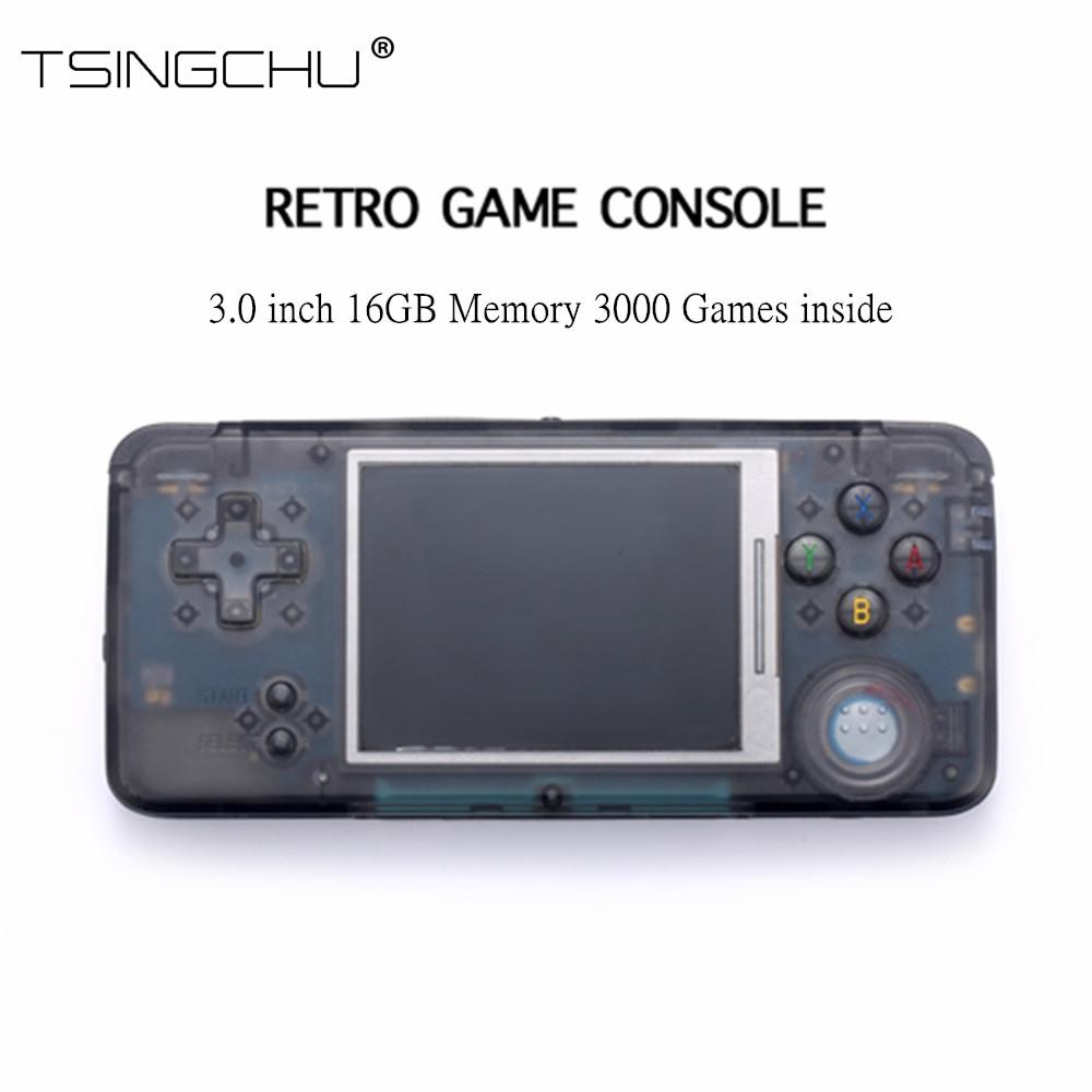 10 PCS Retro เกมคอนโซลเกมคลาสสิก 3000 64bit 16 GB มัลติฟังก์ชั่นเครื่องเล่นเกมพกพาแบบพกพา TV ที่ดีที่สุดของขวัญ-ใน เครื่องเล่นเกมแบบพกพา จาก อุปกรณ์อิเล็กทรอนิกส์ บน AliExpress - 11.11_สิบเอ็ด สิบเอ็ดวันคนโสด 1