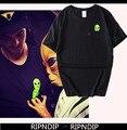 New 1:1 RIPNDIP T Shirt Men Summer 100% Cotton T Shirt Tops Tees Brand Ripndip T-SHIRT Yeez UNDFTD Palace DGK Men T Shirt homme