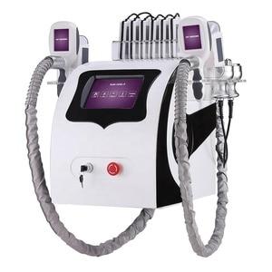 Image 2 - 5 in one Professional weight loss cavitation rf fat frozen  lipo laser/ cryo body slimming machine