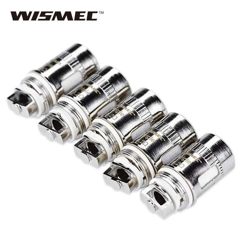 5 unids/lote wismec amor mini atomizador cabeza 0.2ohm bobina electrónica CIG para wismec amor mini/amor Plus/vicino /vicino D30 vaporizador