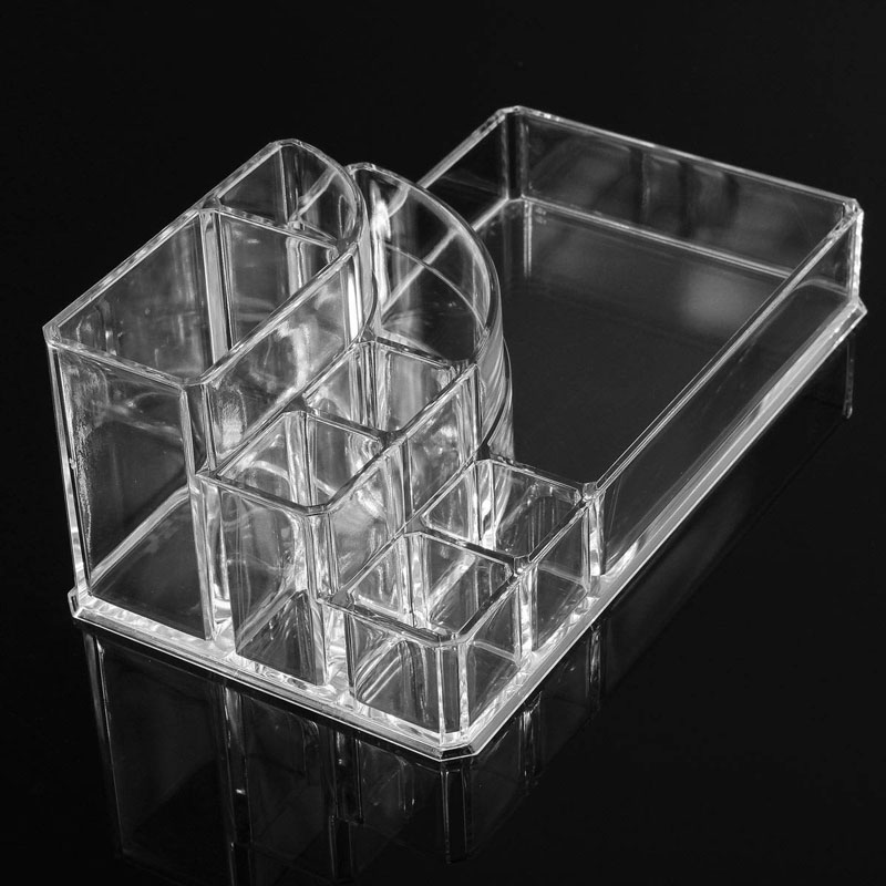 High Quality Make Up Storage Cases Clear Acrylic Jewelry Cosmetic