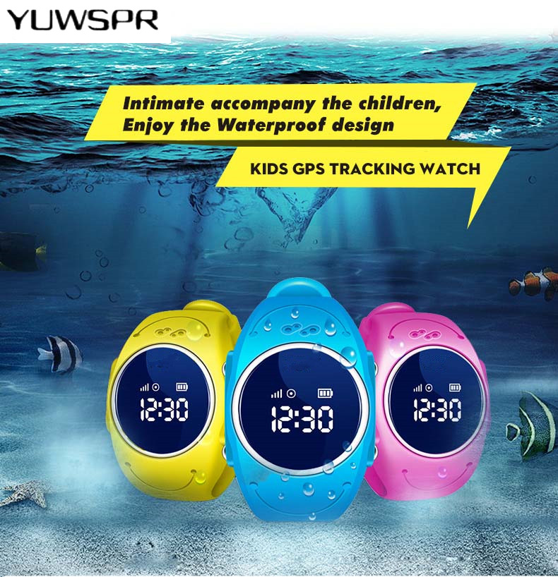 Watch Tracker Waterproof Q520S Kids Flower Anti-Lost Locator Sos-Call-Finder