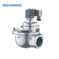 NBSANMINSE QG Z 1 1/2 2 2 1/2 3 Inch Replaced GOYEN Solenoid Pulse Valve Dust Collector Double Diaphragm Valve High Quality